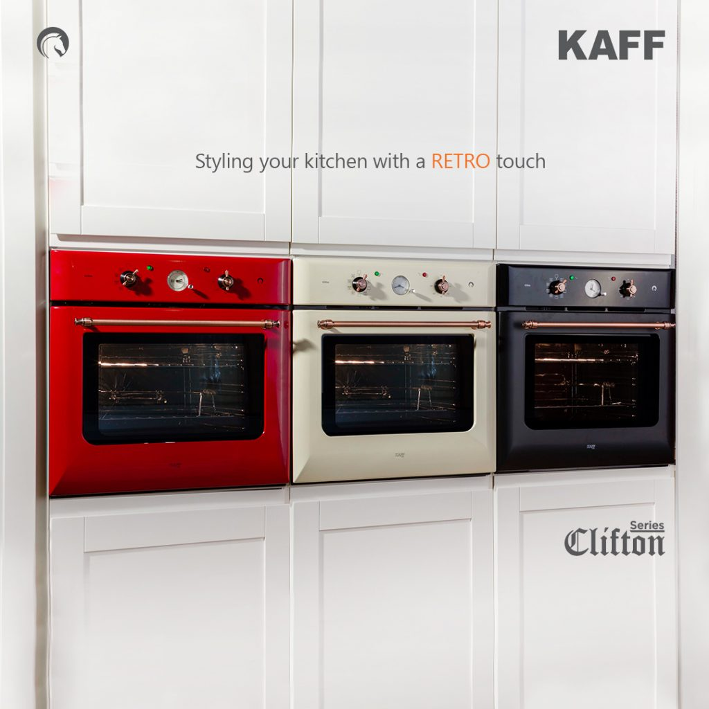 A modern oven with the charm of the bygone era: Series Clifton