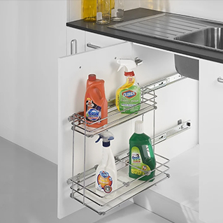 Pull-Out Detergent Rack