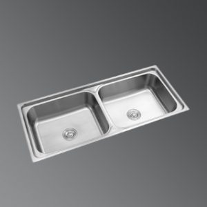 KSD 115 DB|Double Bowl Stainless Steel Sink